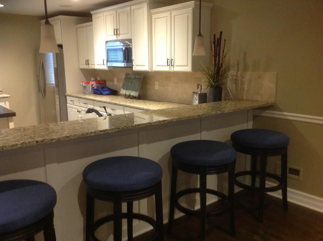 pool house kitchen. Project Description. Client Built A Pool House Kitchen