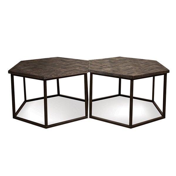 Chevron Hexagon Coffee Table Coffee Tables Home Interior