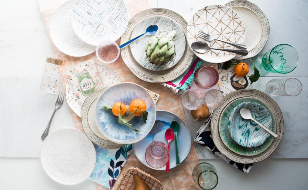 picnic table decoration