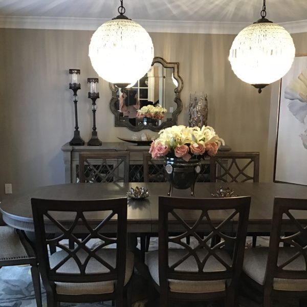 dining room interior design project - home interior warehouse