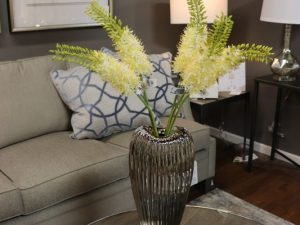 Beautiful botanicals on a coffee table