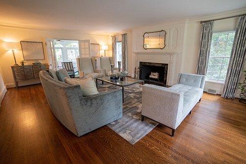 Birmingham Living Room Interior Design Project