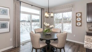 Modern Farmhouse style Dining Room - Kensington Model
