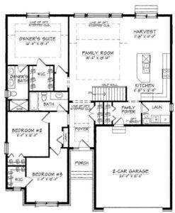 Kensington Model Floor Plan