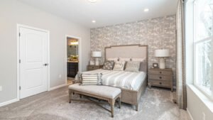 Modern Farmhouse style Master Bedroom - Kensington Model